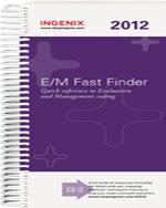 E/M Fast Finder 2012…,9781601515766