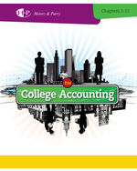 College Accounting, …,9781285055442