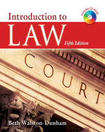 Introduction to Law …,9781111319243