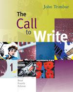 The Call to Write: B…, 9780495899631