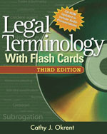 Legal Terminology wi…,9781418039806