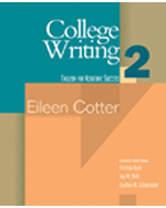 College Writing 2: E…