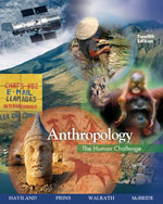Anthropology: The Hu…,9780495095590