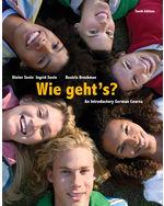 Wie geht's?, 10th Ed…, 9781285733609