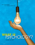 What is Psychology?,&hellip;,9780495553373