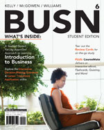 BUSN 6 (with CourseM…,9781133188926