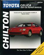 Toyota Celica, 1994-…, 9780801989599
