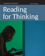 Reading for Thinking…,9780618985821