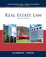 Real Estate Law, 7th…,9780324655209