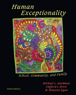 Human Exceptionality…, 9780495810582