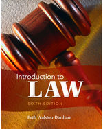 Introduction to Law,…,9781111311896
