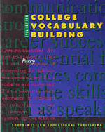College Vocabulary B…,9780538717625