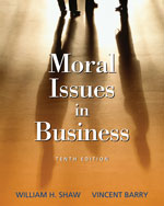 Moral Issues in Busi…,9780495007173