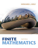 Finite Mathematics, …, 9781133945772