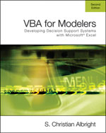 VBA for Modelers: De…, 9780495106838