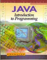 JAVA:  Introduction …,9780538685658