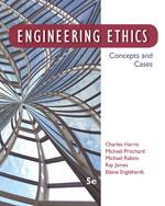 Engineering Ethics: …,9781133934684