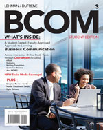Bundle: BCOM (with P…,9781133263487