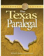 The Texas Paralegal,…,9781418012960