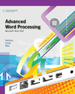 Advanced Word Proces&hellip;,9780538495400