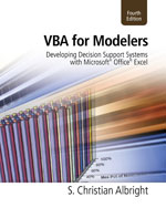 VBA for Modelers: De…,9781133190875