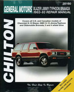 Chevrolet Blazer, Ji…,9780801991103