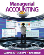 Managerial Accountin…,9780538480901