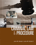 Criminal Law and Pro…,9781285070117