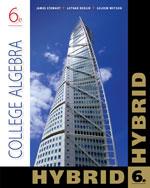 College Algebra, Hyb…,9781133600435