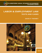 Labor and Employment…, 9780324594843