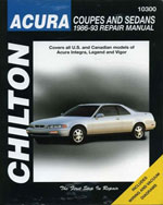 Acura Coupes and Sed…,9780801984266