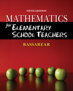 Mathematics for Elem…,9780840054630