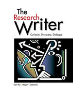 The Research Writer, 1st Edition