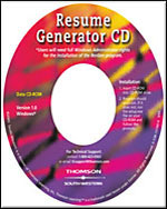 Resume Generator CD-&hellip;,9780538442329