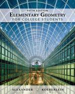 Elementary Geometry …,9781439047903