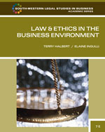 Law and Ethics in th…,9780538473514