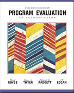 Program Evaluation: …,9780534508272