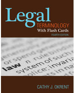 Legal Terminology wi…,9781111136796