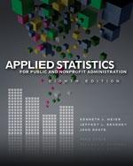 Applied Statistics f…, 9781111342807