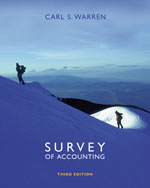 Survey of Accounting…,9780324312485