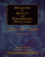 Managing for Quality…,9780324382273