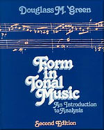 Form in Tonal Music:…,9780030202865