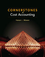 Cornerstones of Cost…,9780538736787