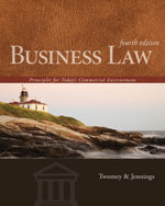 Business Law: Princi…,9781133588245