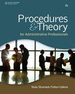 Procedures & Theory …, 9781111575861