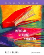 Informal Reading Inv…,9780618495986