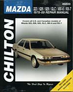 Mazda 323, 626, 929,…