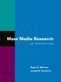 Mass Media Research:…,9780534560072