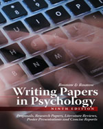 Writing Papers in Ps…,9781111726133
