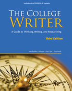 The College Writer: …,9780495803416